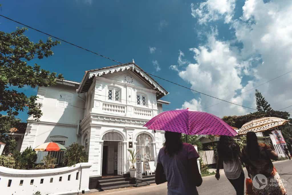 Roteiro em Negombo: Main Street