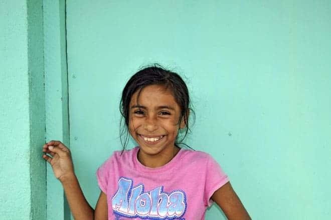 Miúda em Catarina, Nicarágua