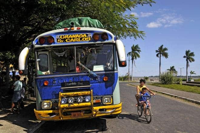 Autocarro de passageiros, Granada