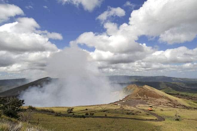 Vulcão Nindirí, no Parque Nacional do Vulcão Masaya