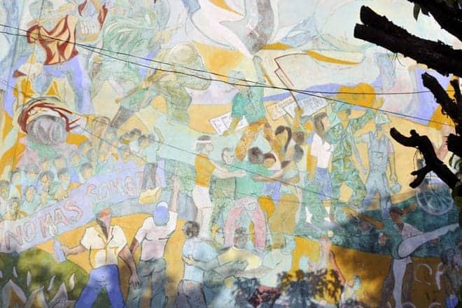 Mural em León