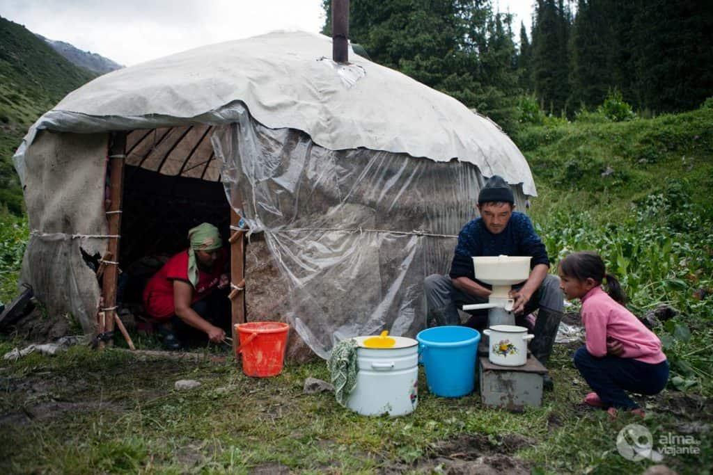 Nómadas Quirguistão