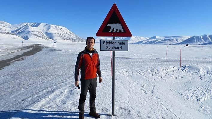 Viver em Longyearbyen: Nuno Cruz