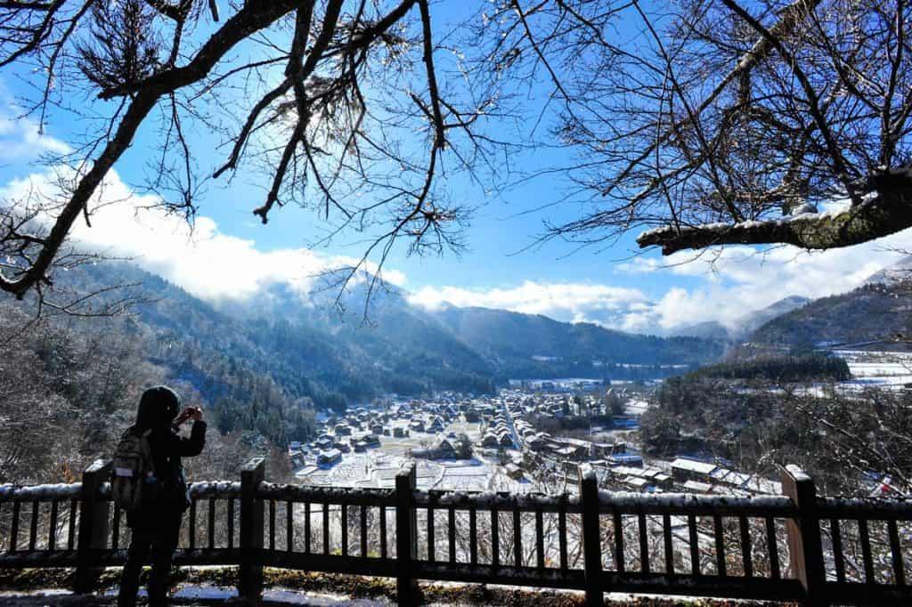 Miradouro em Ogimachi