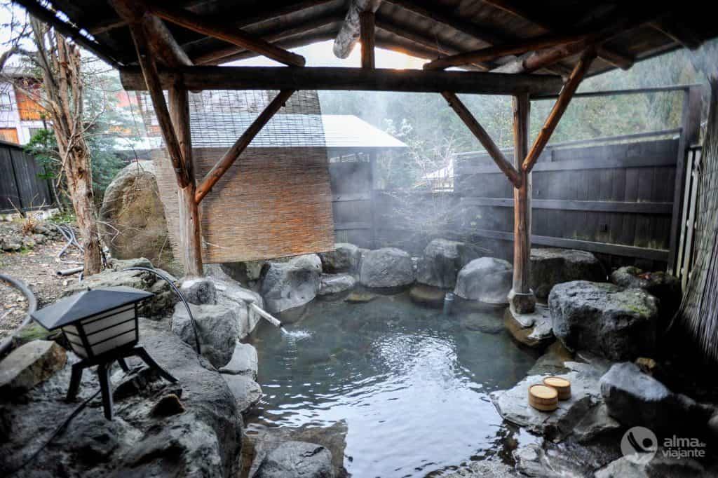 Ryokan em Okuhida Onsen