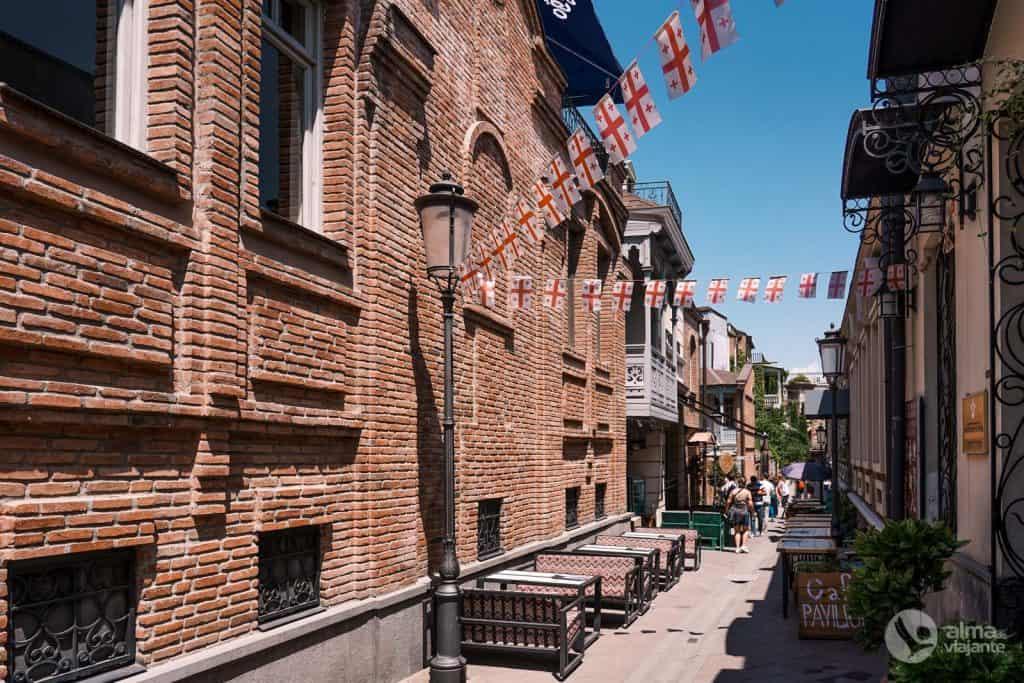O que visitar em Tbilisi: old town