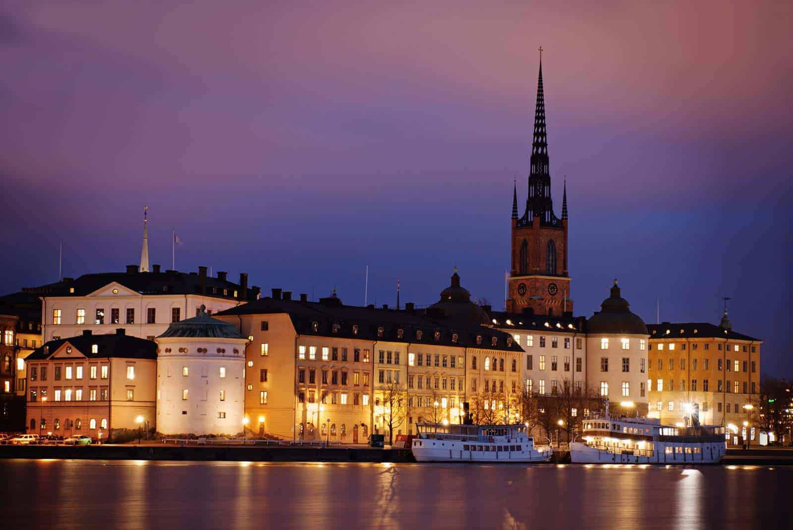 Old Town de Estocolmo, Suécia