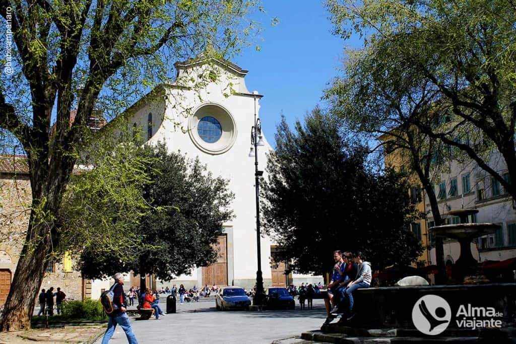 O que fazer em Florença Itália: Piazza Santo Spirito, Oltrarno