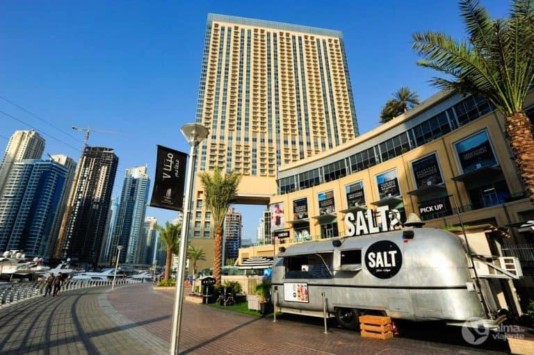 Onde ficar no Dubai: marina