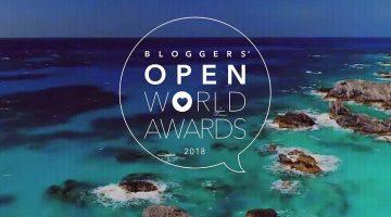 Alma de Viajante é o grande vencedor dos Bloggers' Open World Awards 2018