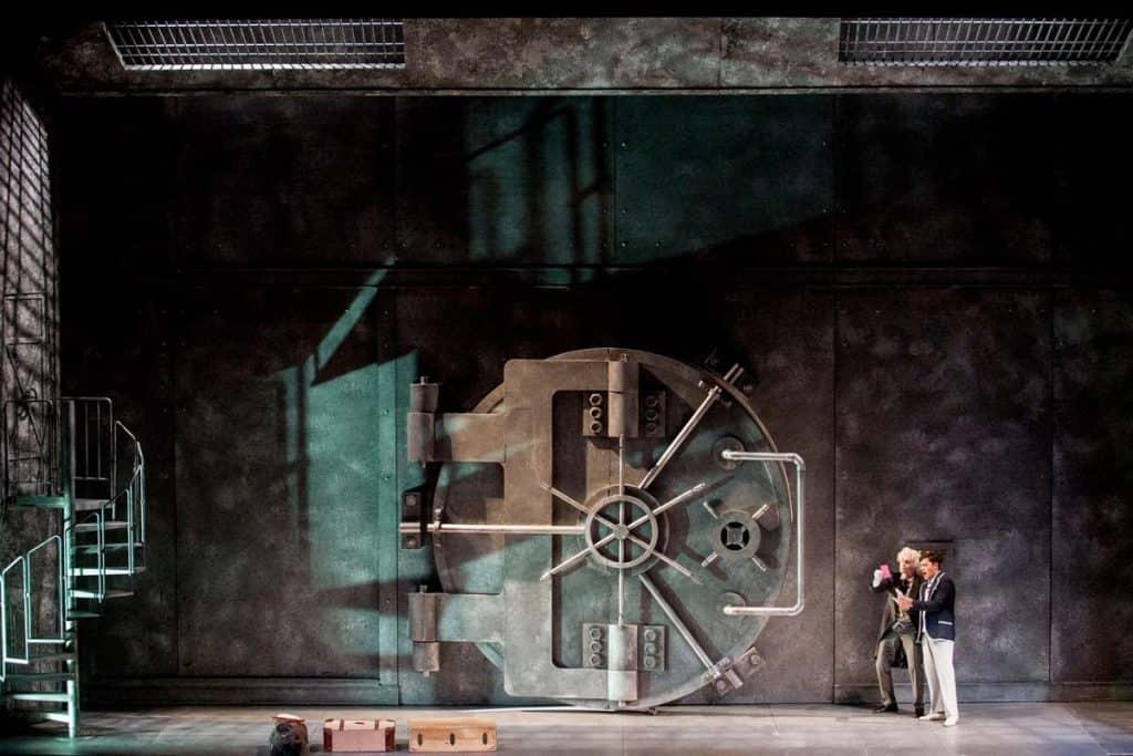Ópera Don Pasquale no Teatro Donizzeti, Bérgamo