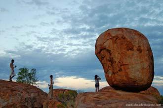 Formações rochosas Devil Marbles, Austrália