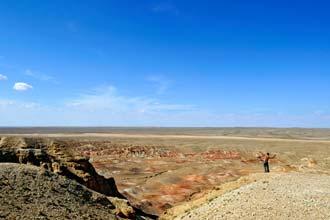 Região montanhosa de Tsagaan Suvarga, Mongólia