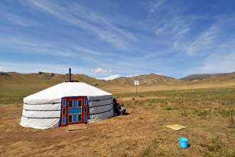 Grande Lago Branco, Mongólia