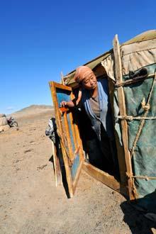 Tradicional ger mongol