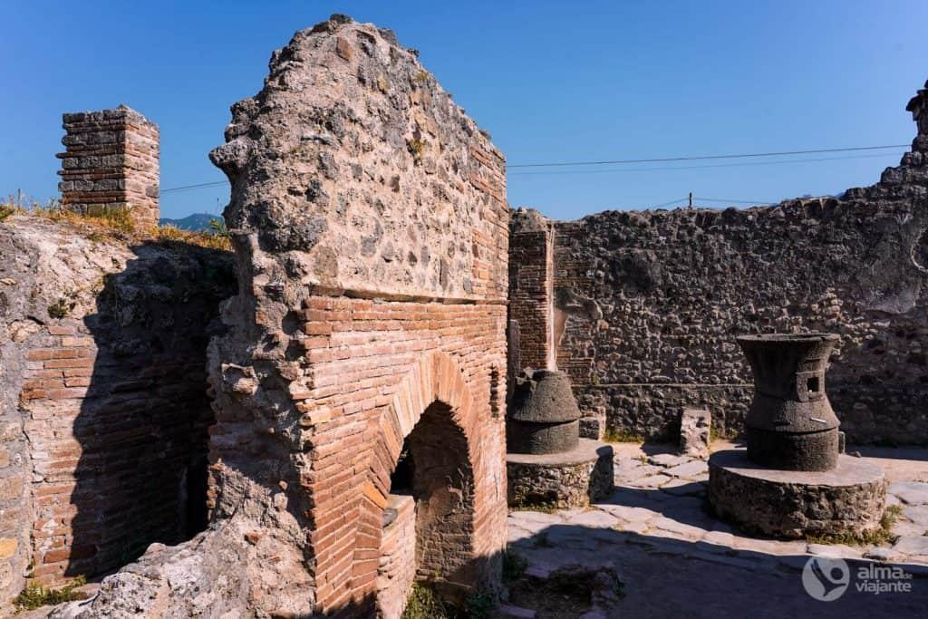 Padaria de Popidio Prisco, Pompeia