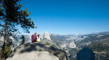 Ceļošana ar bērniem Yosemite