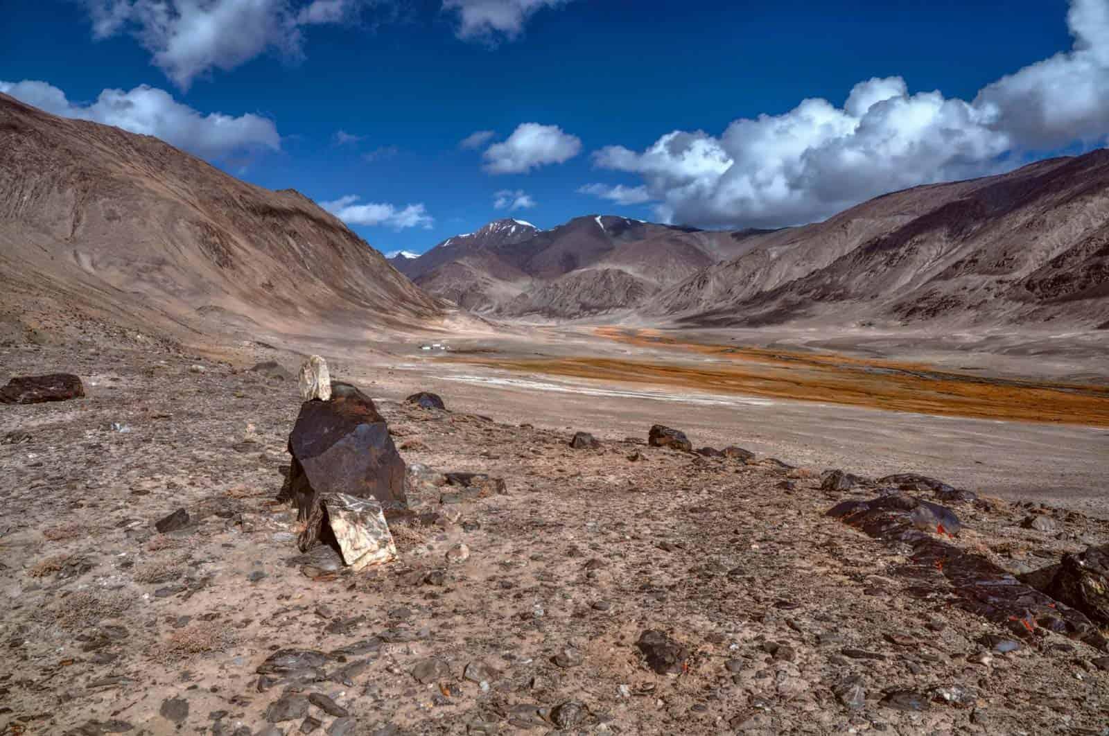 Paisagem árida, Tajiquistão