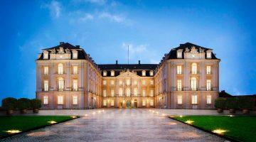 Visitar o Palácio Augustusburg, em Brühl