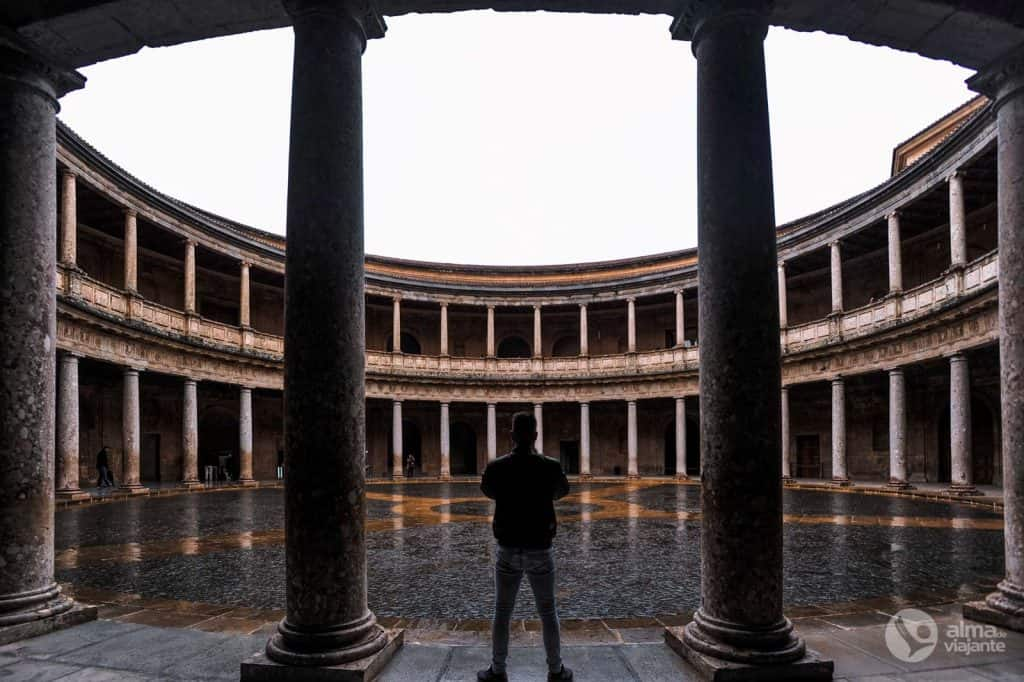 Látogasson el Alhambraba: Carlos V Palace