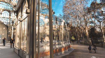 Palácio de Cristal de Madrid, um refúgio de luz no Parque do Retiro