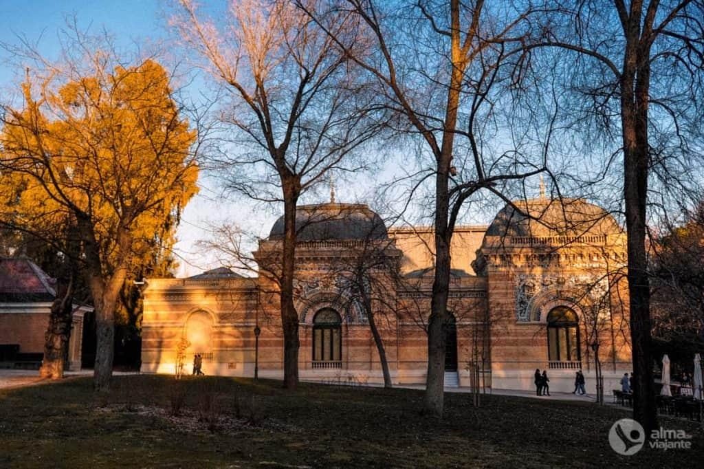 Palácio Velázquez,Parque do Retiro, Madrid