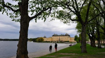 Património Mundial: Palácio Drottningholm, Estocolmo, Suécia