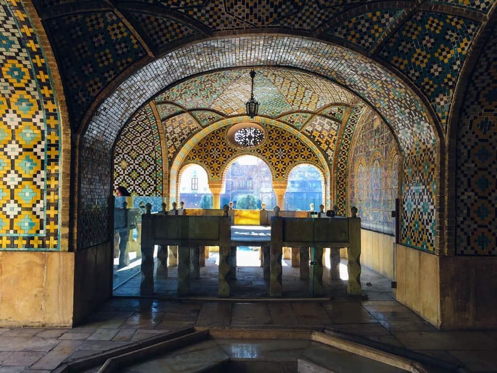 Ką daryti Teherane: Golestano rūmai