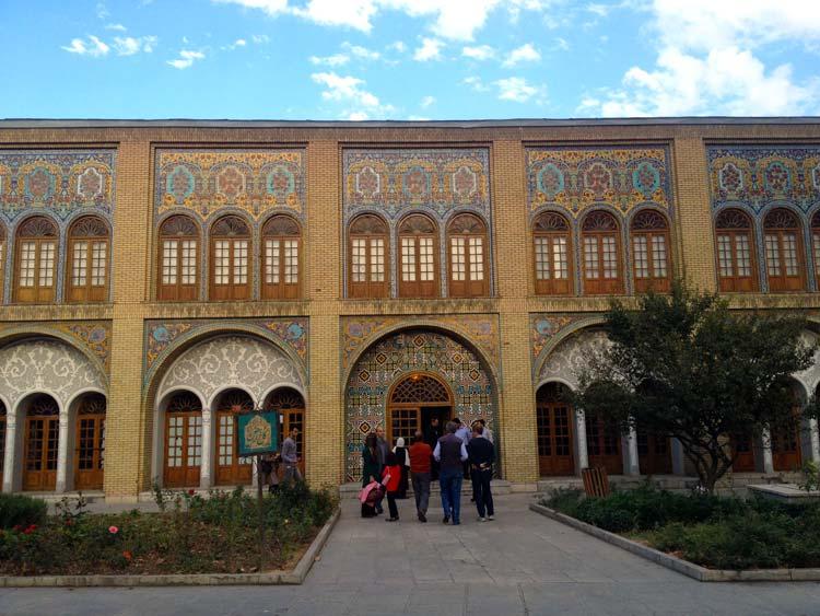 Palácio Golestan Teerão