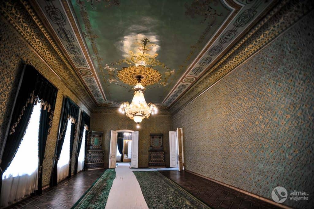O que visitar em Khiva: Palácio Isfandiyar