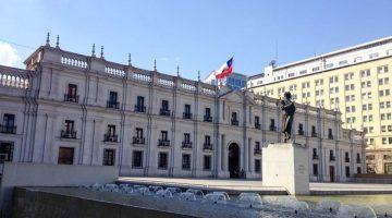 La Moneda pils, Santjago