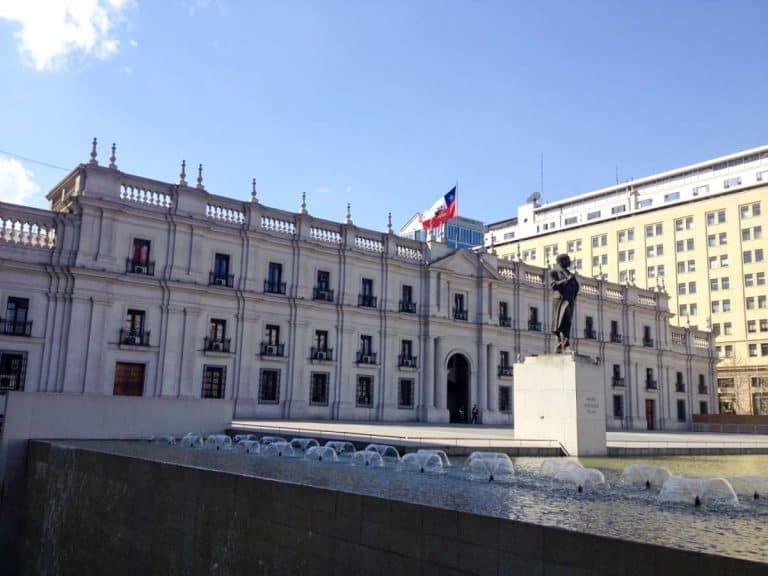 Palácio La Moneda, Santiago