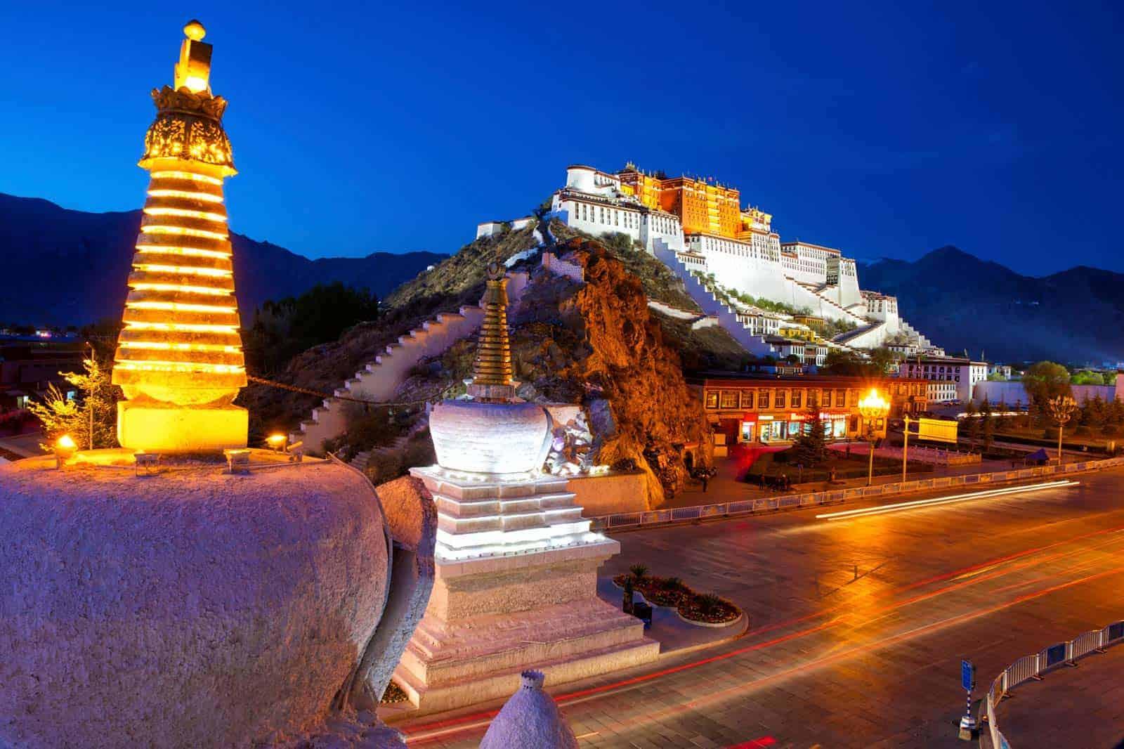 Palácio Potala, Lhasa, Tibete