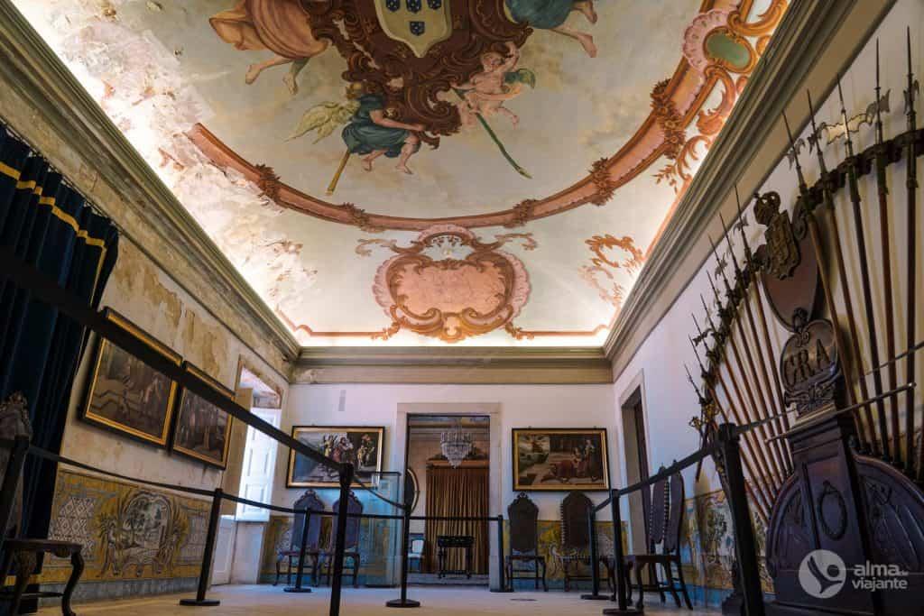 Sala das Armas do Palácio Real da Universidade de Coimbra