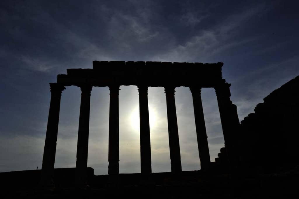 Sólsetur í Palmira