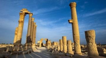 Palmyra, crónica de uma destruição anunciada (fotografias)