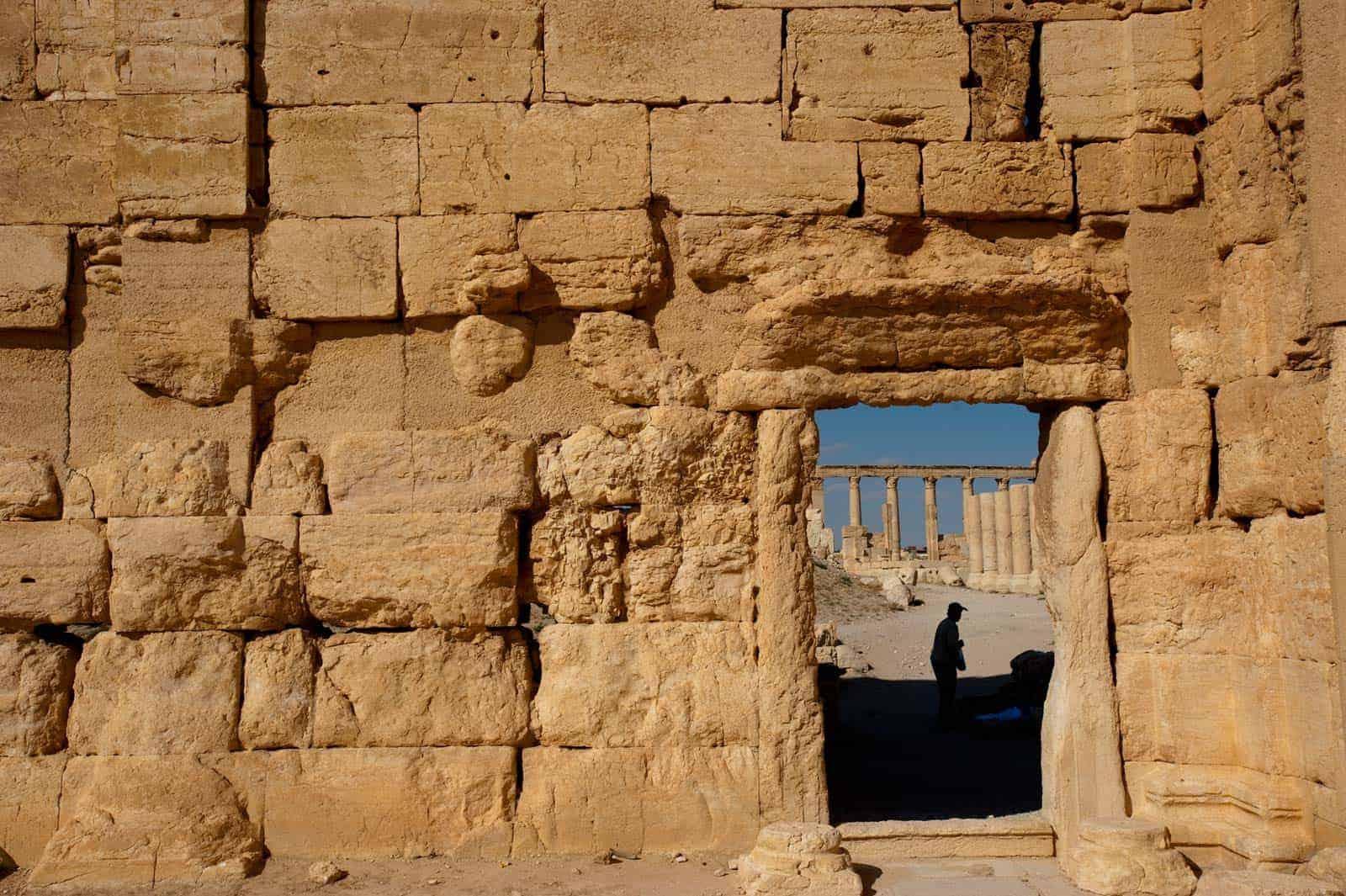 Ruínas de Palmyra, Síiria