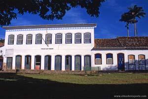 Centro cultural em Paraty, Brasil<