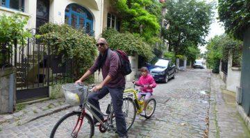 París en familia: paseo en bicicleta
