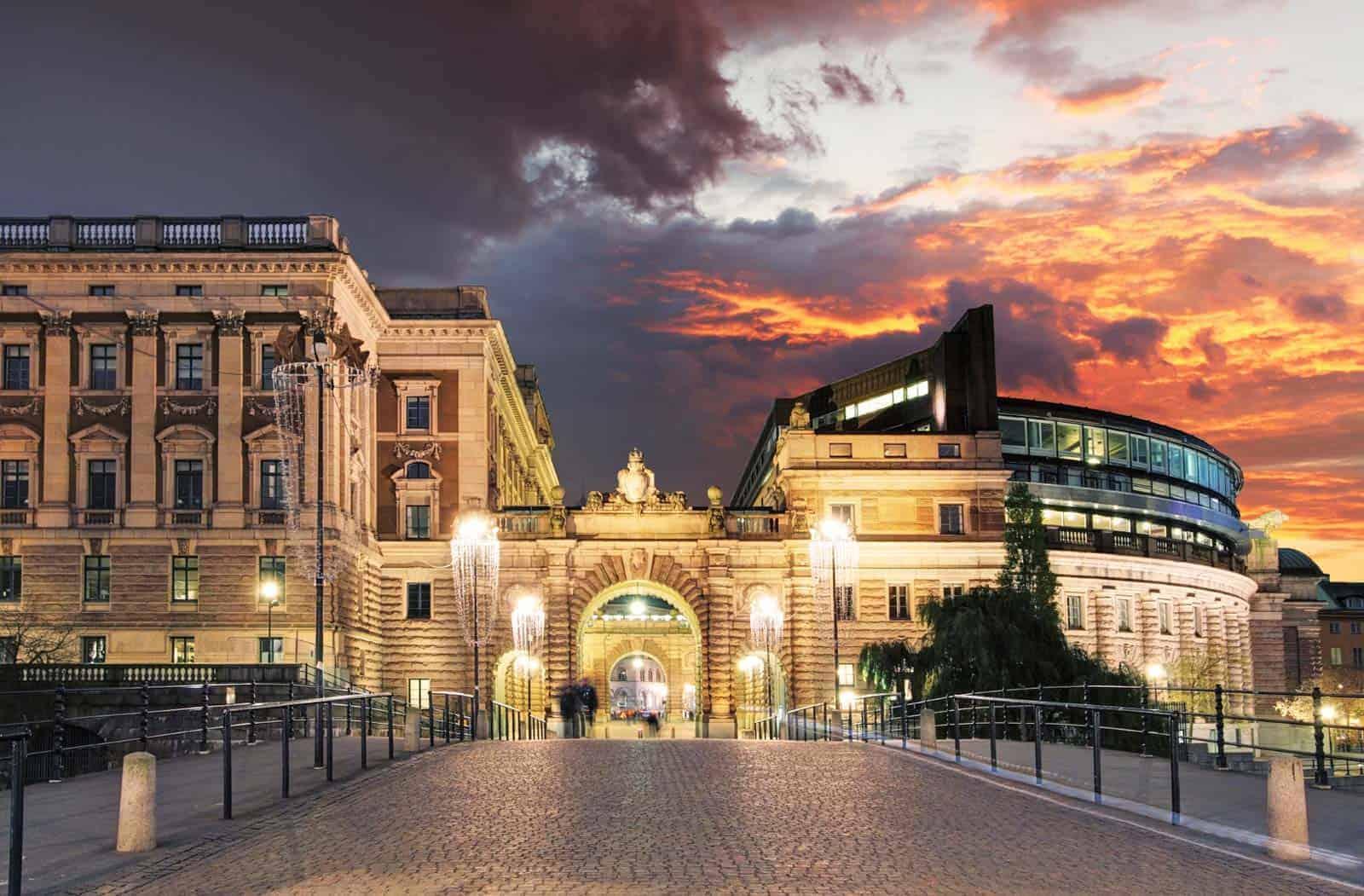 Parlamento de Estocolmo, Suécia