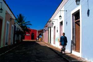 Porto das Barcas, zona histórica da Parnaíba, capital do Piauí, Brasil