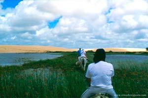 Ilha Grande de Santa Isabel, próximo do delta do Parnaíba