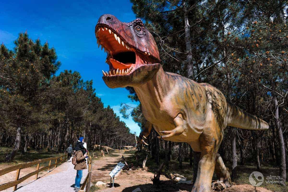 Tiranossauro Rex, Dino Parque