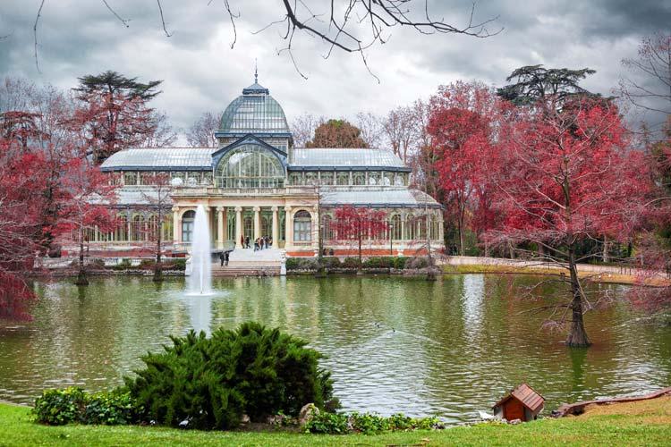 Palácio de Cristal, parque de Retiro, Madrid