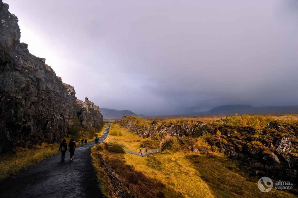 Scenārijs Islande: Thingvellir