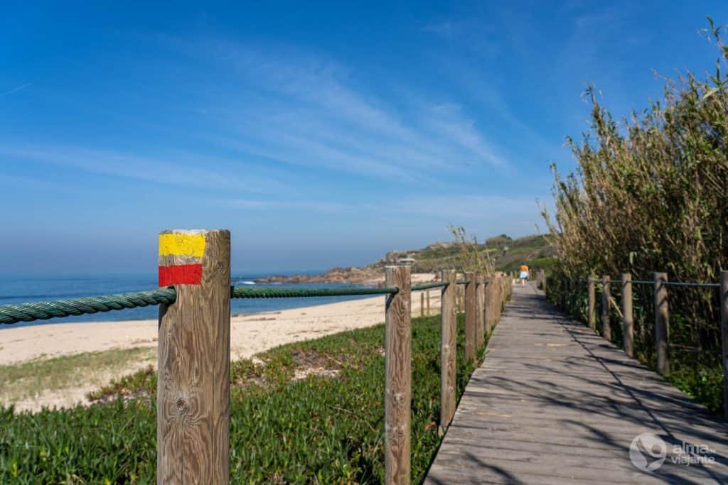 Passadiços de Vila do Conde: praia de Labruge