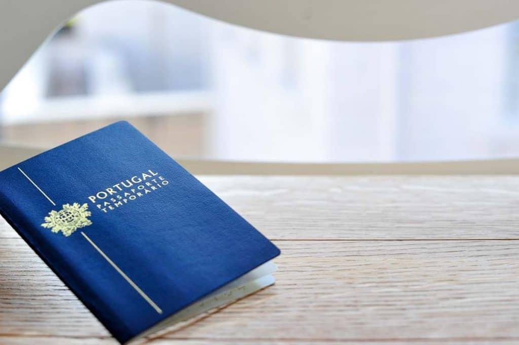 Passaporte temporário Portugal