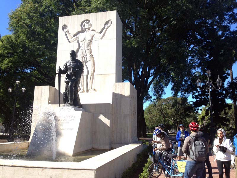 Jazda na bicykli, Buenos Aires