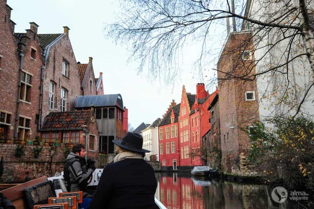 Passeio de barco em Ghent