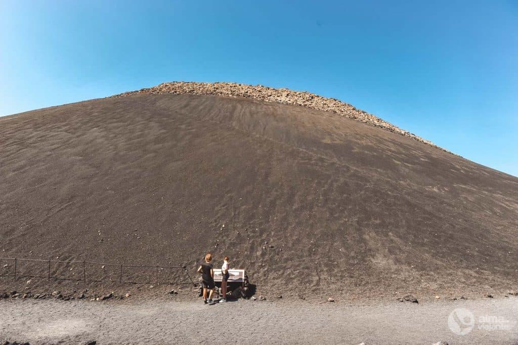 Corvo Volcano Crater